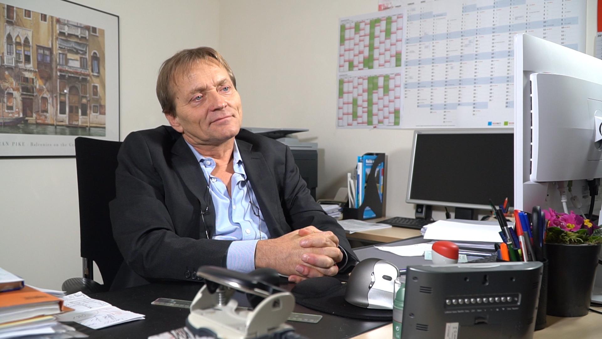 Christoph Schmidt hat sich viele Jahre um die Sorgen der Bewohner des Aschenbergs gekümmert.