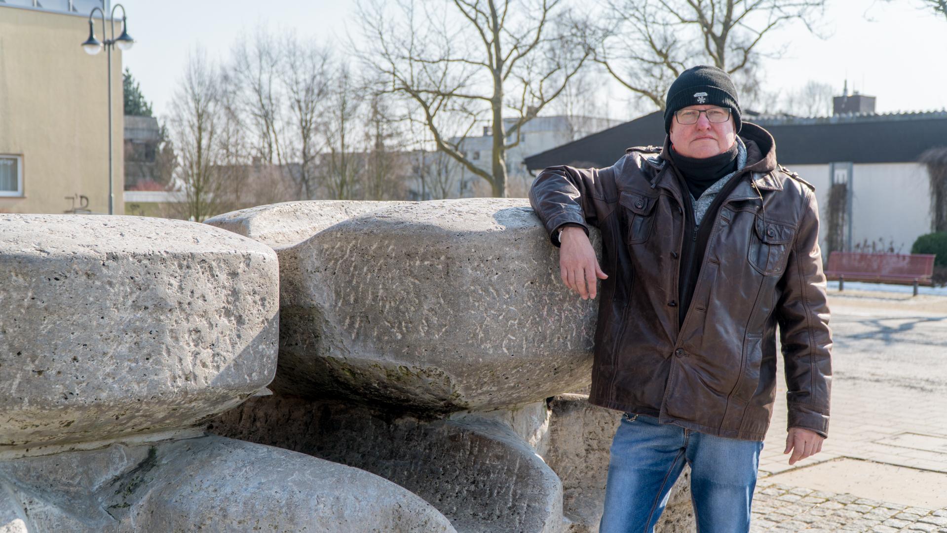 Thomas wohnt seit Jahrzehnten auf dem Aschenberg.